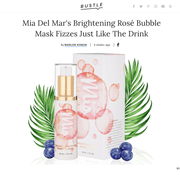 Brightening Rosé Bubble Face Mask