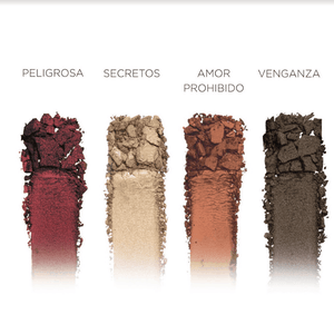 Novelera Eyeshadow Palette + Dual Ended Brush