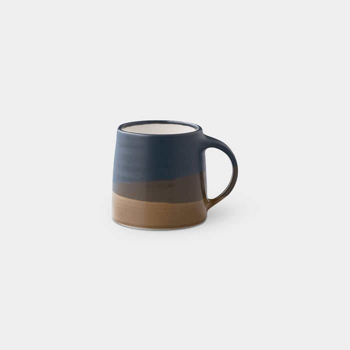 Mug, Navy & Brown