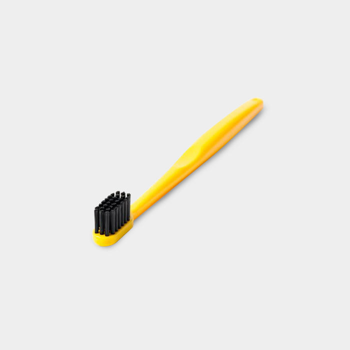 Binchotan Charcoal Toothbrush, Yellow
