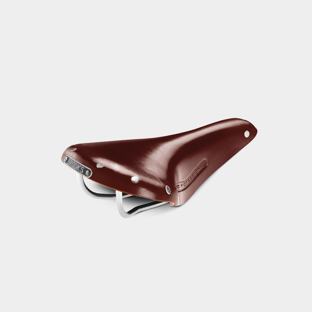 Team Pro Classic Saddle, Antique Brown