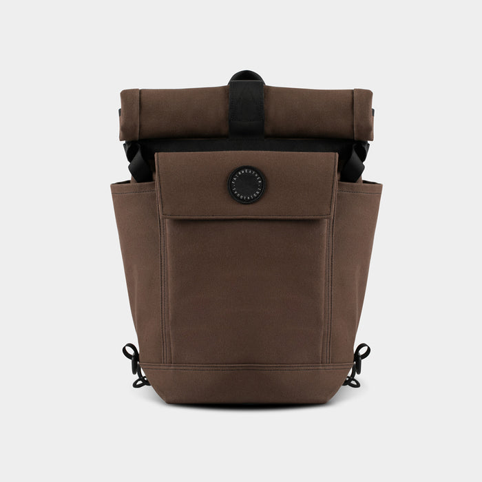 2 Way Backpack / Pannier, Brown - tokyobike