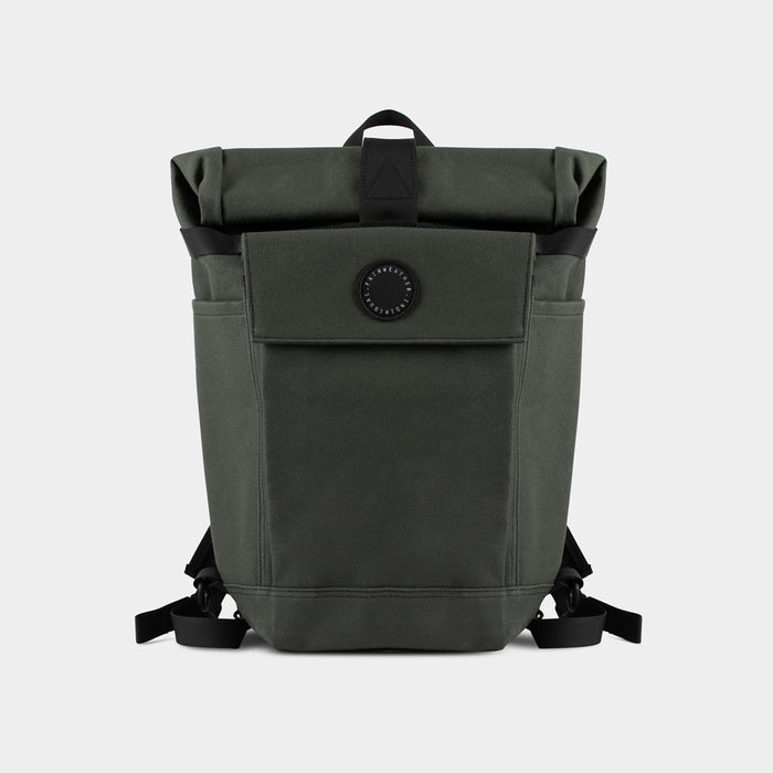 2 Way Backpack / Pannier, Olive - tokyobike