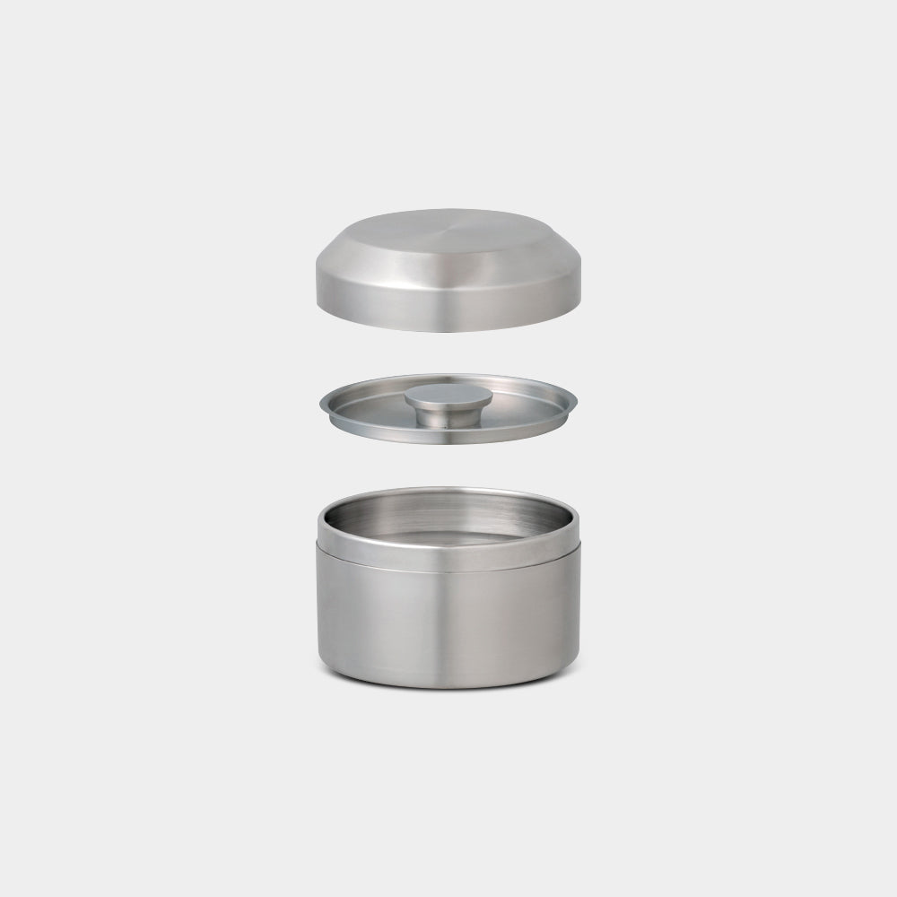 Leaves To Tea Canister, Stainless Steel