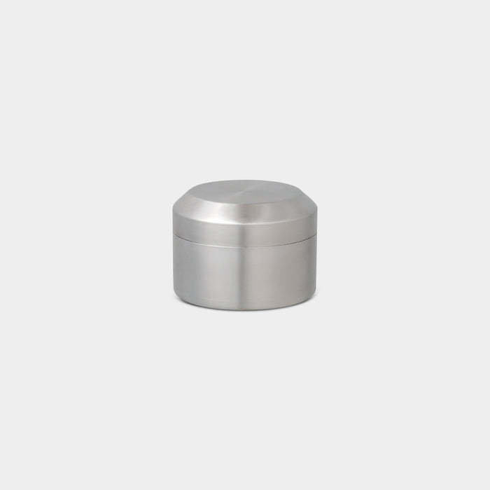 Leaves To Tea Canister, Stainless Steel - tokyobike