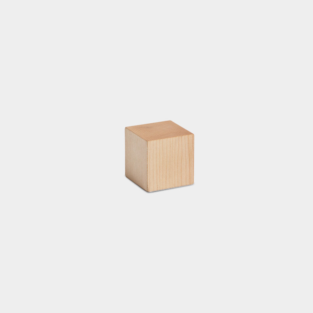 Cube Paperweight, Maple