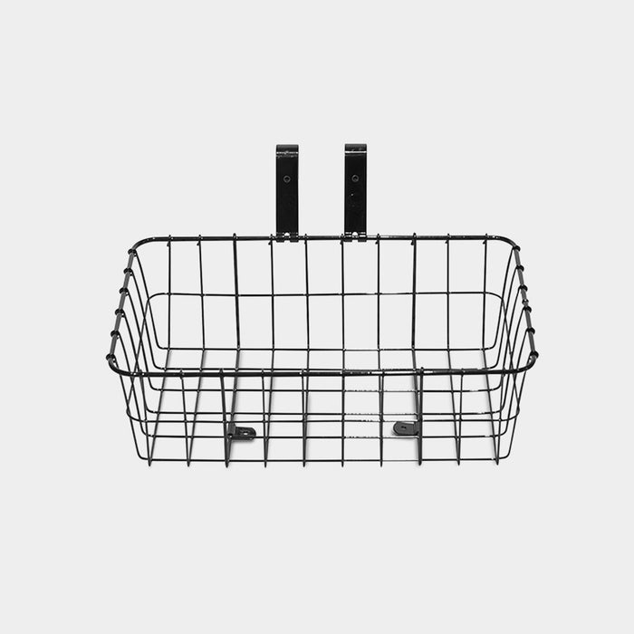 Shallow Basket, Black