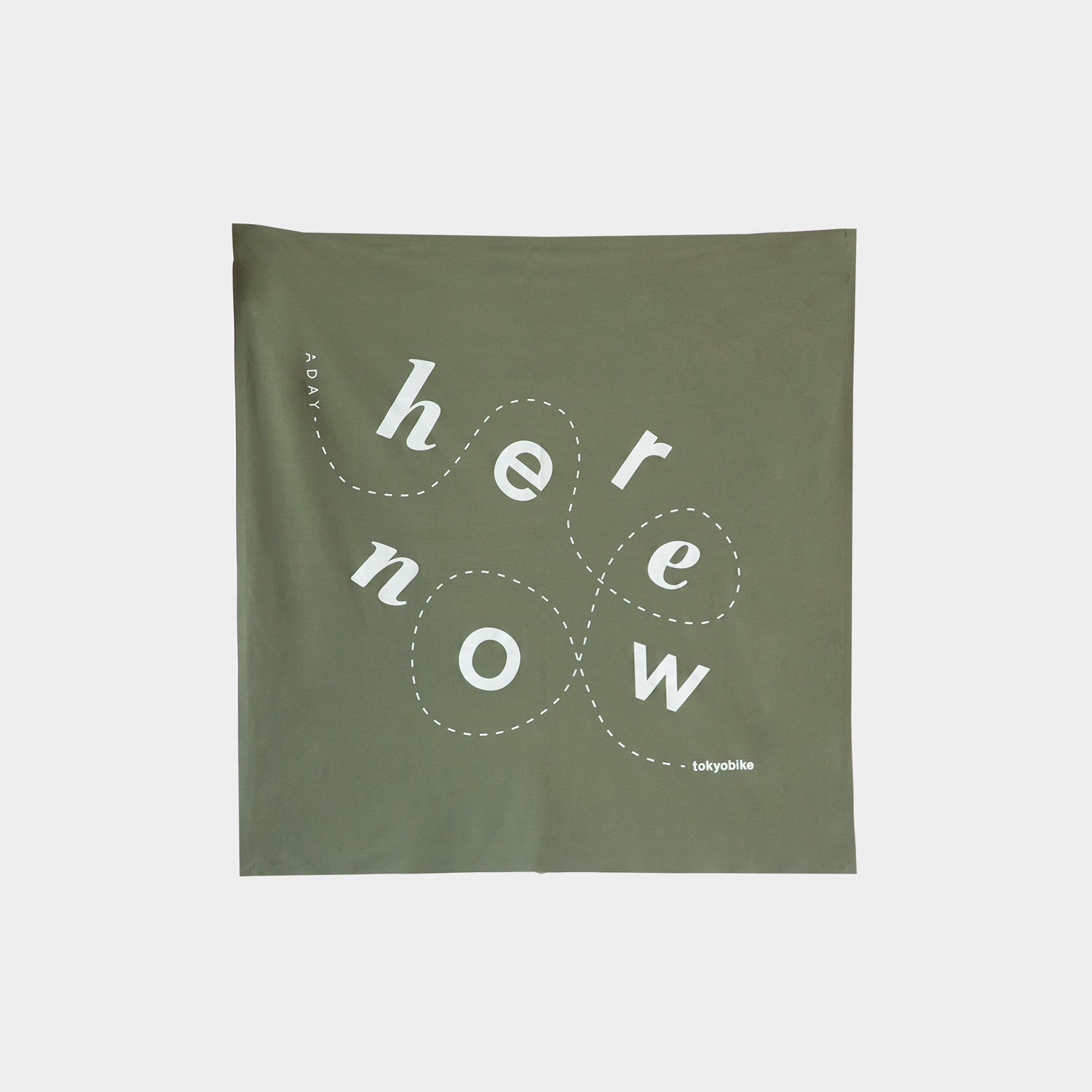Here. Now. Bandana, Moss Green