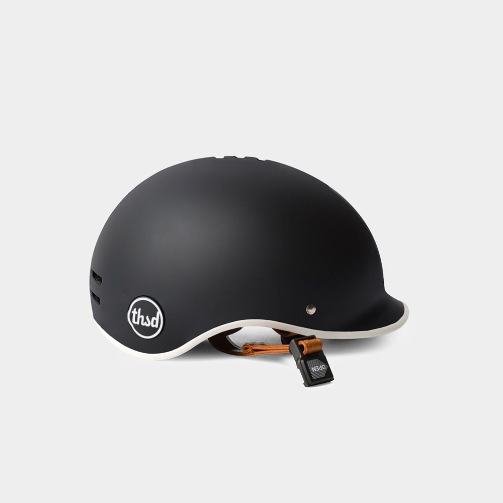 tokyobike - Heritage Bike Helmet, Carbon Black - thousand