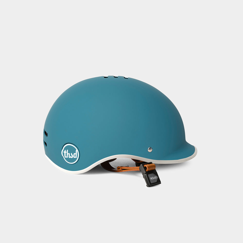 Heritage Bike Helmet, Coastal Blue