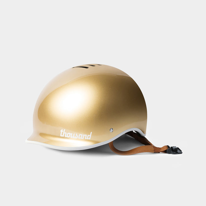 Heritage Bike Helmet, Stay Gold