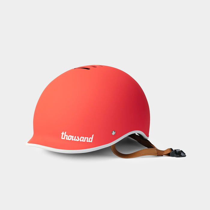 Heritage Bike Helmet, Daybreak Red