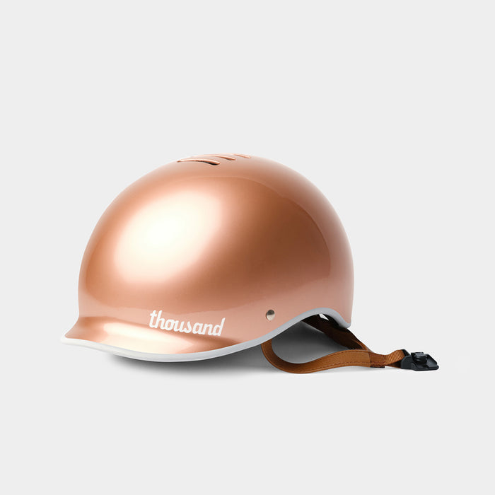 Heritage Bike Helmet, Rose Gold - tokyobike