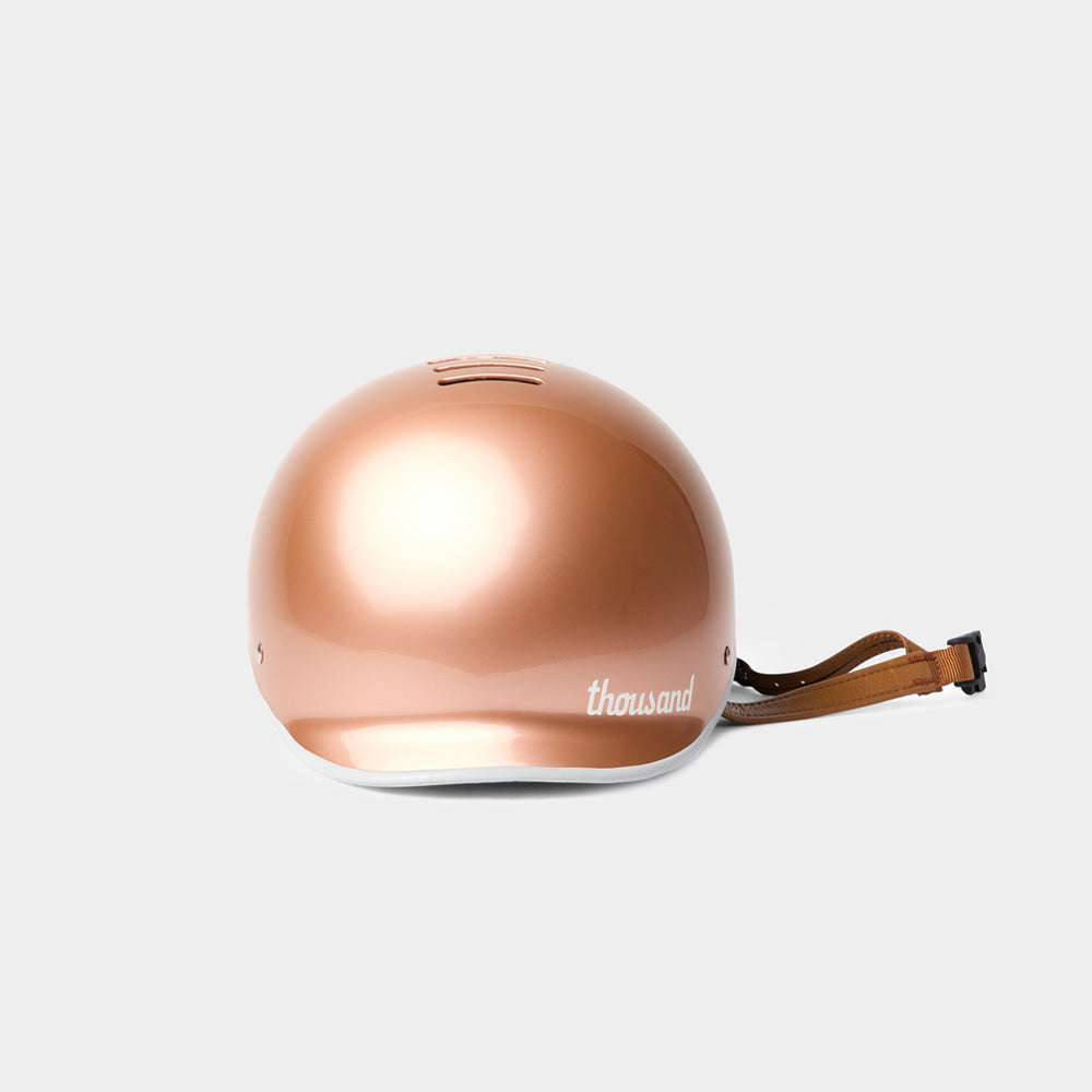 Heritage Bike Helmet, Rose Gold