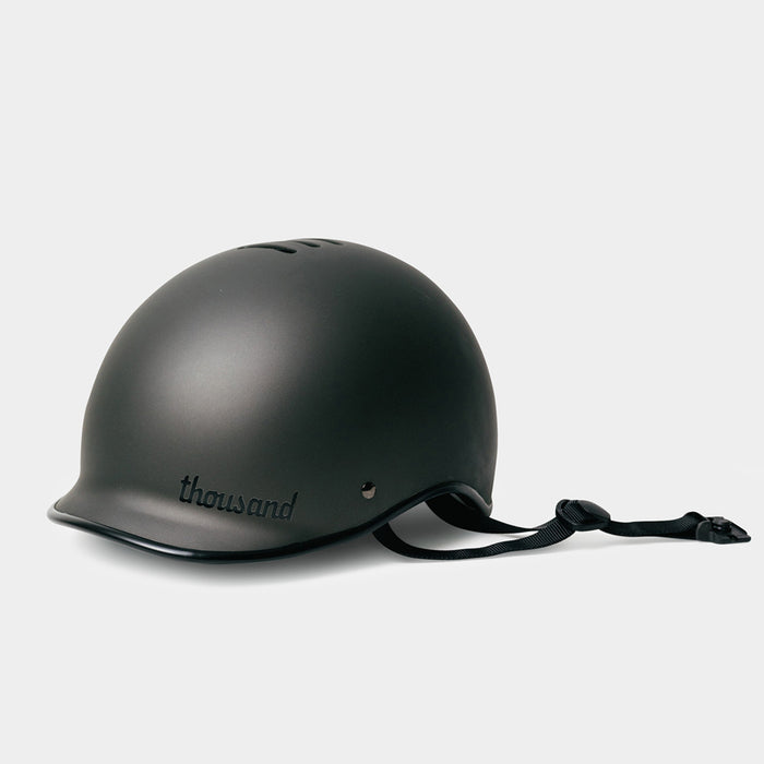 tokyobike - Heritage Bike Helmet, Stealth Black - thousand