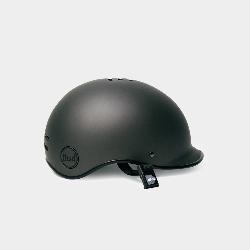 Heritage Bike Helmet, Stealth Black