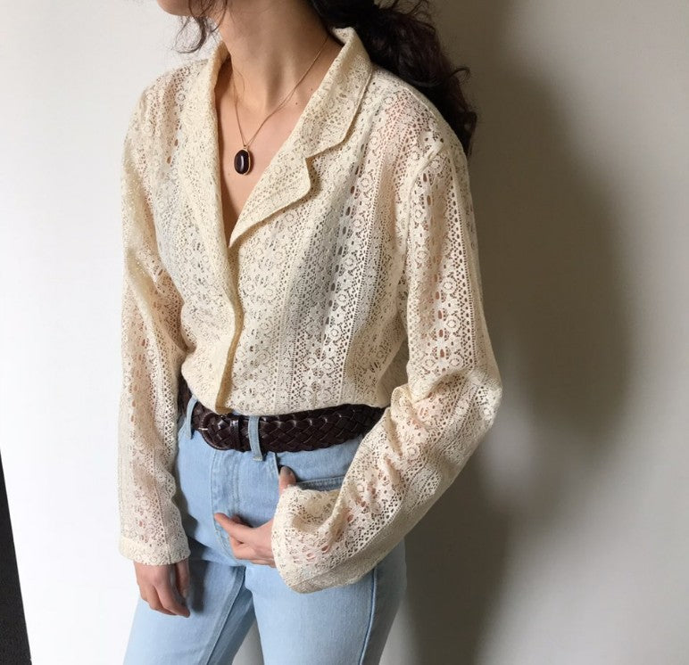 Retro Lace Blazer,artistic bae review, artisticbae reviews, artistic bae reviews, artsy clothing  - Artistic Bae
