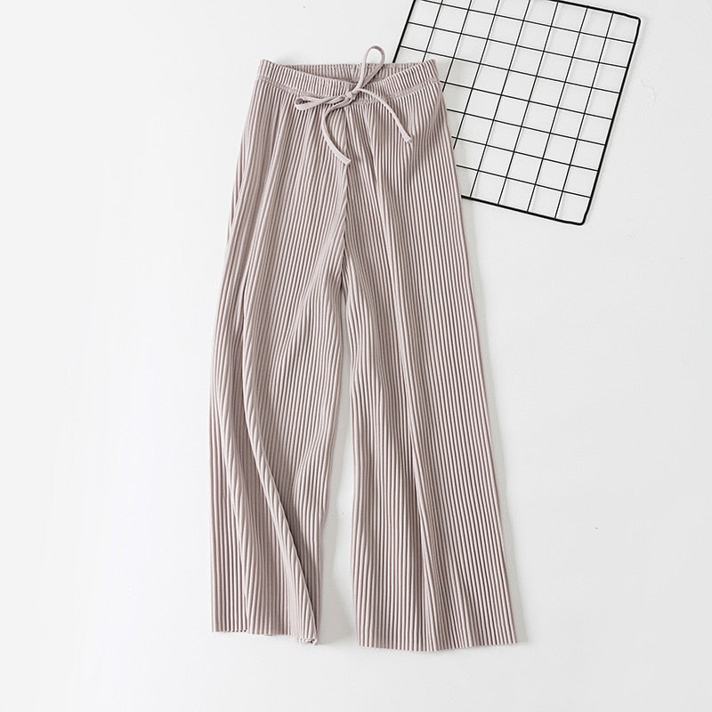 Elastic Chiffon Casual Pants,artistic bae review, artisticbae reviews, artistic bae reviews, artsy clothing  - Artistic Bae