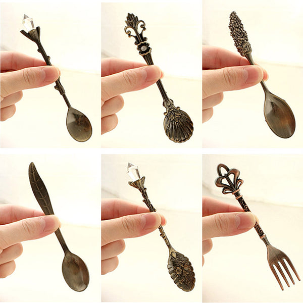 Royal Coffee Spoon Set -6pcs,artistic bae review, artisticbae reviews, artistic bae reviews, artsy clothing  - Artistic Bae