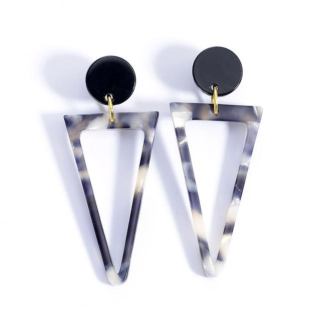 Geometric Colorful Retro Earrings,artistic bae review, artisticbae reviews, artistic bae reviews, artsy clothing  - Artistic Bae