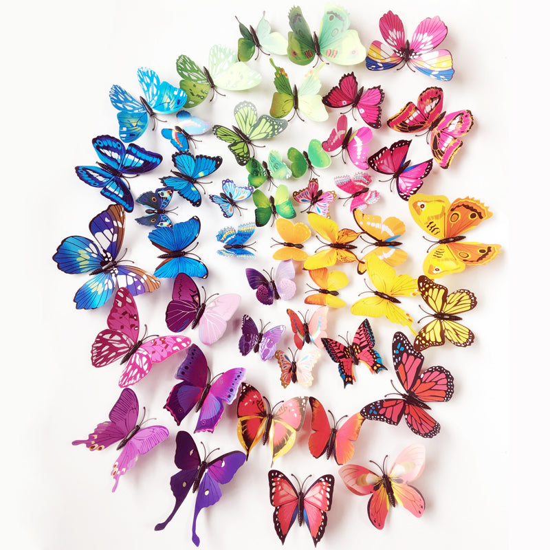 Butterflies Wall Stickers   Artistic Bae
