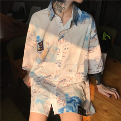 """Wanderer"" Shirt,artistic bae review, artisticbae reviews, artistic bae reviews, artsy clothing  - Artistic Bae"