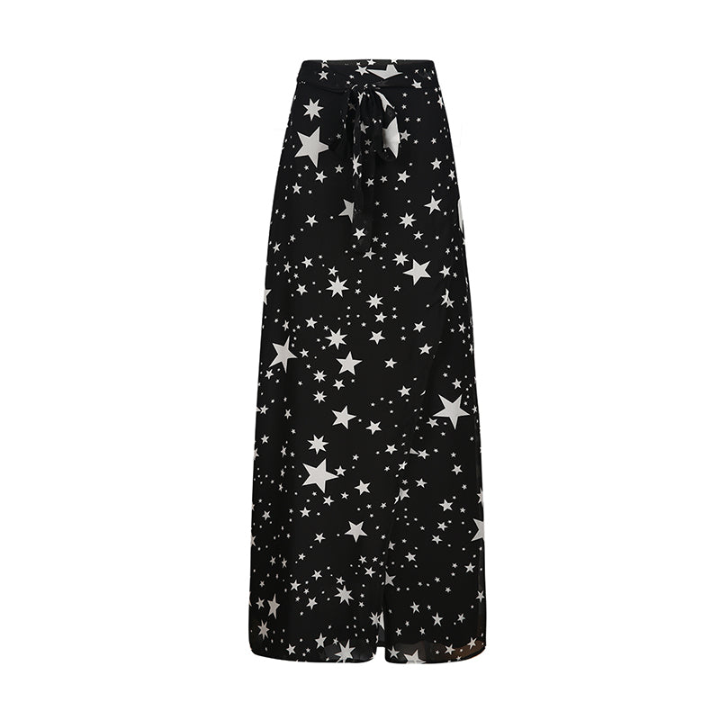 Starry High Waist Long Skirt,artistic bae review, artisticbae reviews, artistic bae reviews, artsy clothing  - Artistic Bae