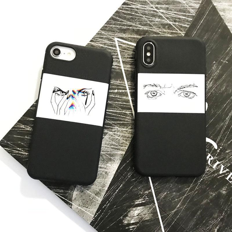 Sharp Comic Eyes Silicone Cases,artistic bae review, artisticbae reviews, artistic bae reviews, artsy clothing  - Artistic Bae