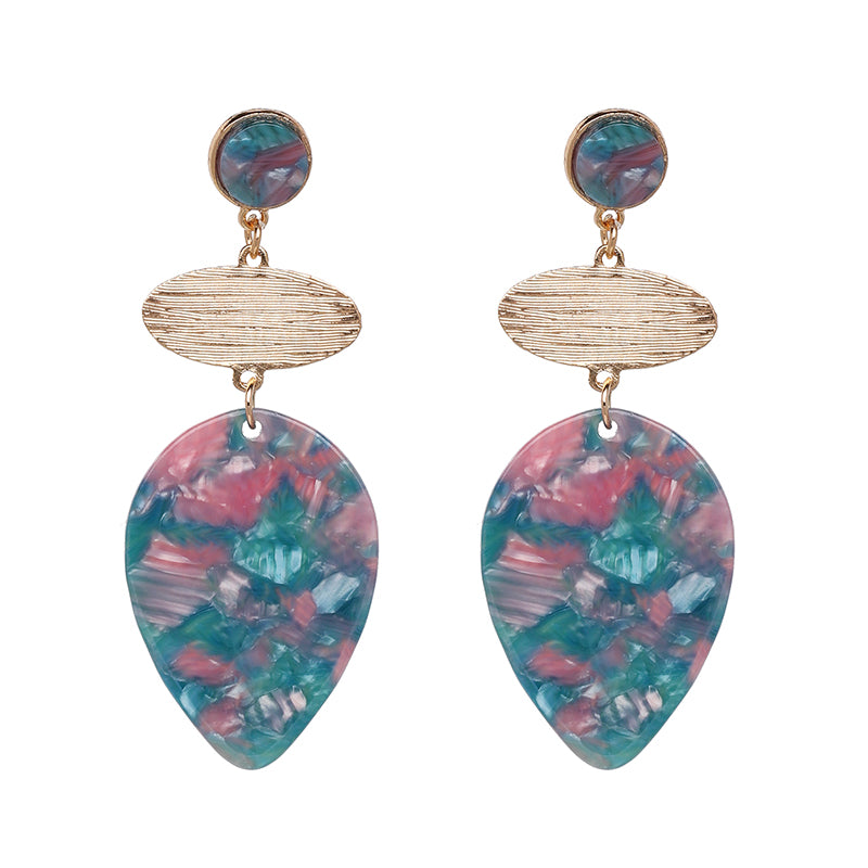 Boho Multicolor Drop Earrings,artistic bae review, artisticbae reviews, artistic bae reviews, artsy clothing  - Artistic Bae