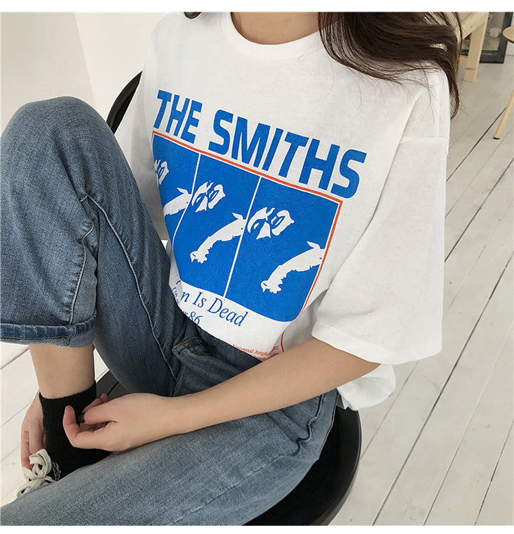 """The Smiths"" T-Shirt,artistic bae review, artisticbae reviews, artistic bae reviews, artsy clothing  - Artistic Bae"