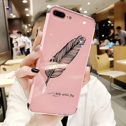 Wishful Feather iPhone Case,artistic bae review, artisticbae reviews, artistic bae reviews, artsy clothing  - Artistic Bae