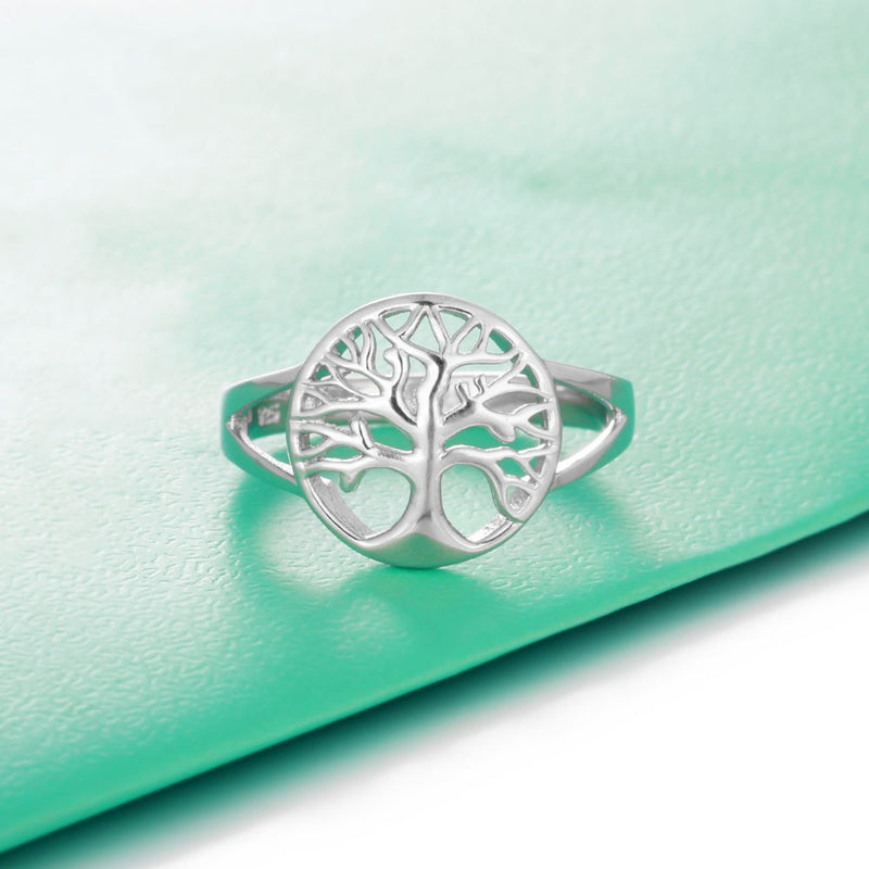 Classic Tree of Life Silver Ring,artistic bae review, artisticbae reviews, artistic bae reviews, artsy clothing  - Artistic Bae