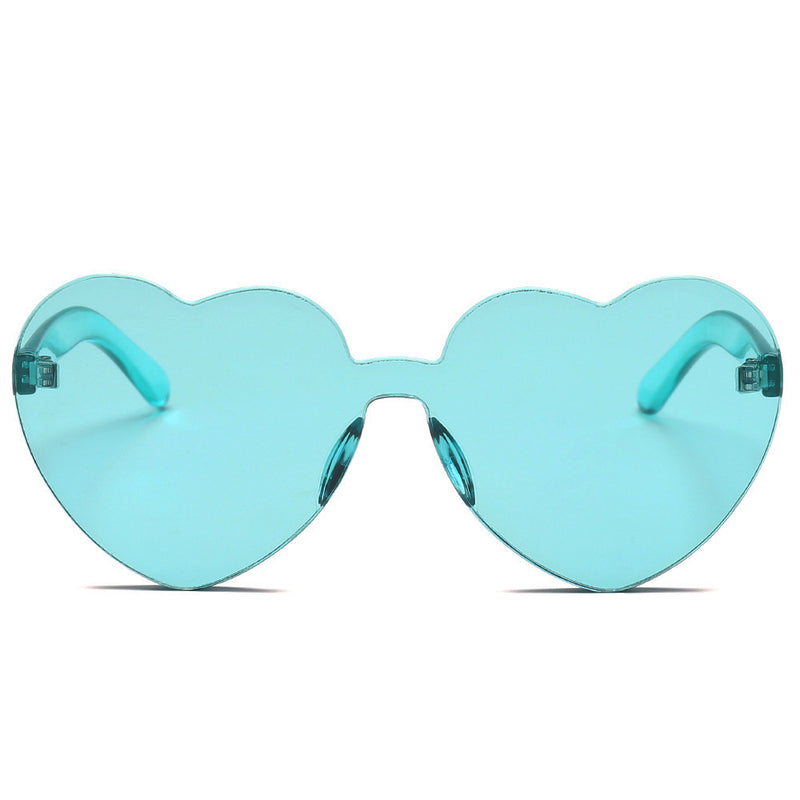 2018 Frameless Heart Sunglasses,artistic bae review, artisticbae reviews, artistic bae reviews, artsy clothing  - Artistic Bae