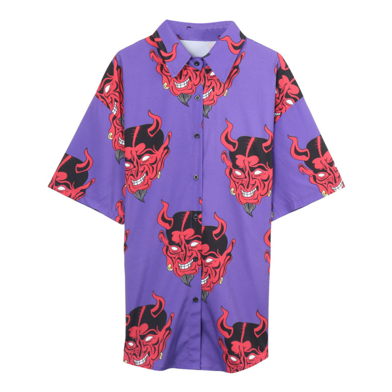 """Punk Devil"" Shirt,artistic bae review, artisticbae reviews, artistic bae reviews, artsy clothing  - Artistic Bae"