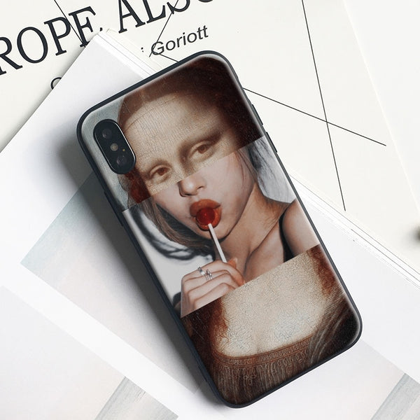 """Call Me Lisa"" iPhone Case,artistic bae review, artisticbae reviews, artistic bae reviews, artsy clothing  - Artistic Bae"
