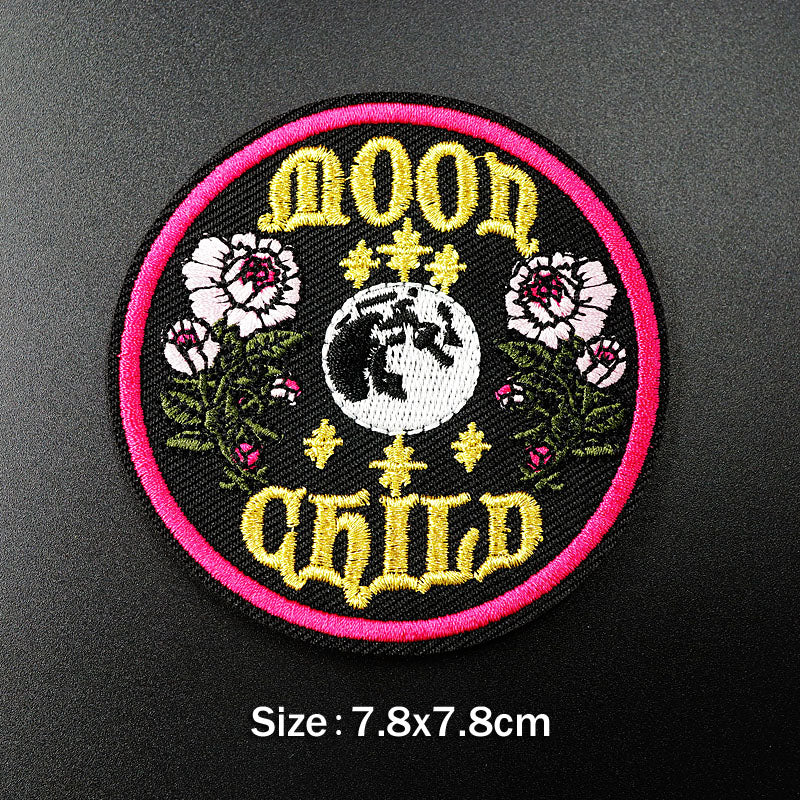 Moon Child Badge,artistic bae review, artisticbae reviews, artistic bae reviews, artsy clothing  - Artistic Bae