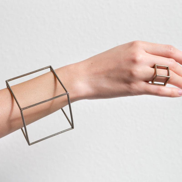 Hollow Square Bracelet,artistic bae review, artisticbae reviews, artistic bae reviews, artsy clothing  - Artistic Bae