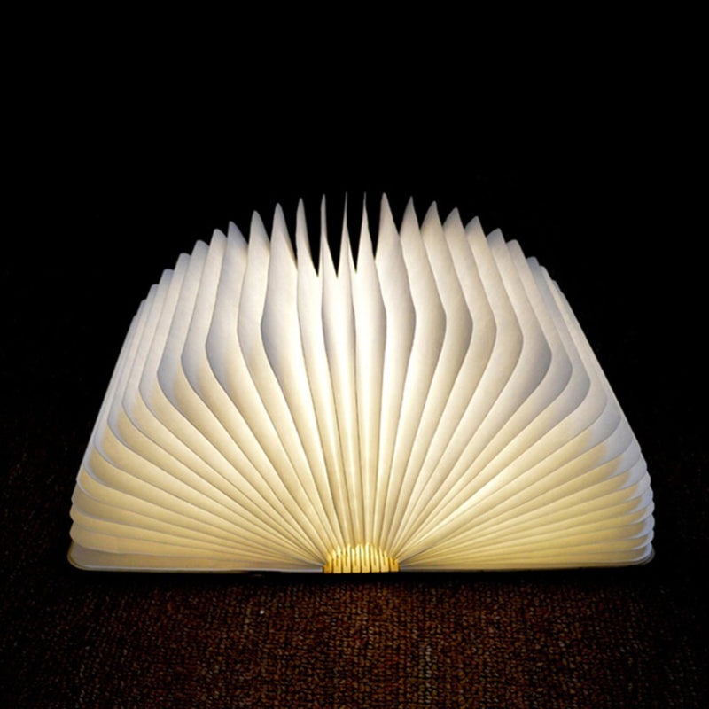 LED Wooden Book Lamp,artistic bae review, artisticbae reviews, artistic bae reviews, artsy clothing  - Artistic Bae