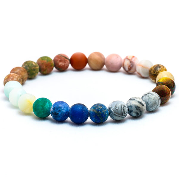 Solar System Natural Stone Bracelet,artistic bae review, artisticbae reviews, artistic bae reviews, artsy clothing  - Artistic Bae