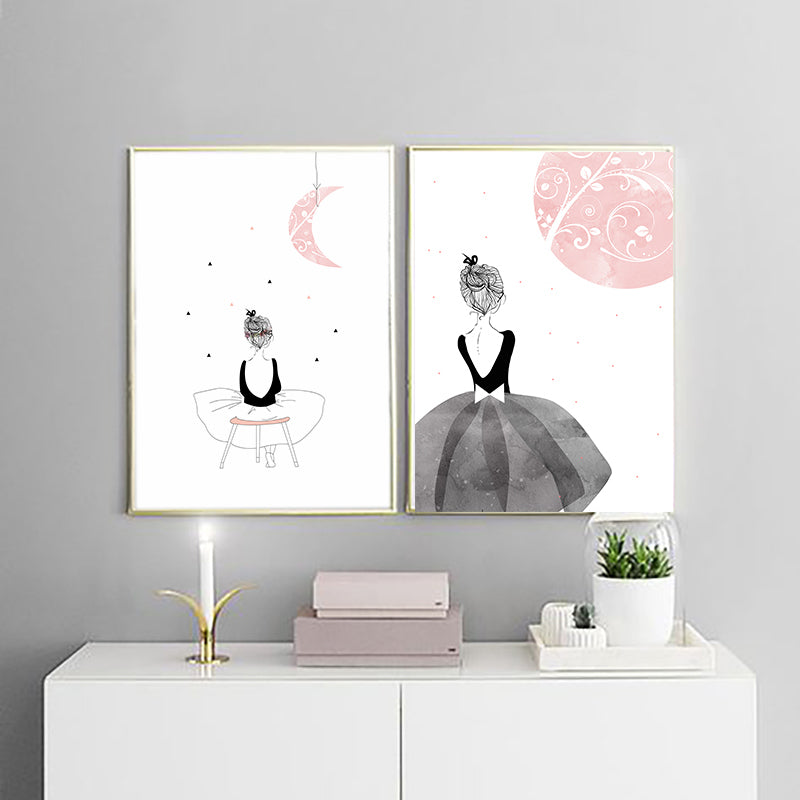 Fantasy Moon Girl Canvas Art,artistic bae review, artisticbae reviews, artistic bae reviews, artsy clothing  - Artistic Bae