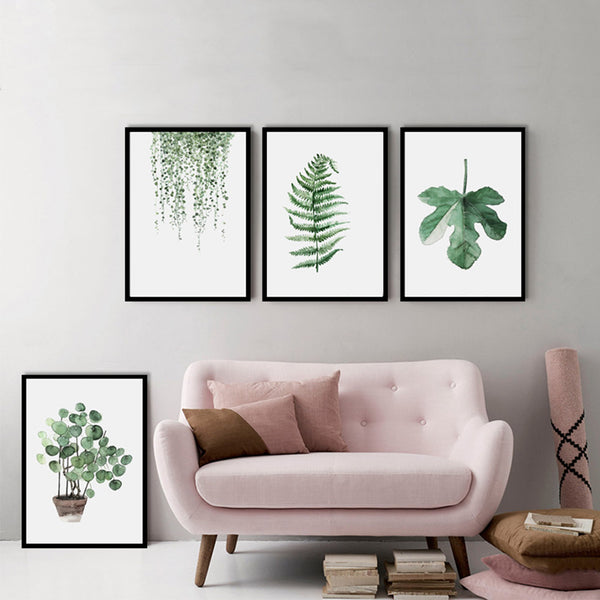Tropical Plant Minimalist Art,artistic bae review, artisticbae reviews, artistic bae reviews, artsy clothing  - Artistic Bae