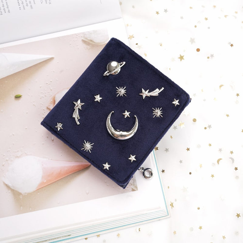 Dreamy Galaxy Velvet Mini Wallet,artistic bae review, artisticbae reviews, artistic bae reviews, artsy clothing  - Artistic Bae
