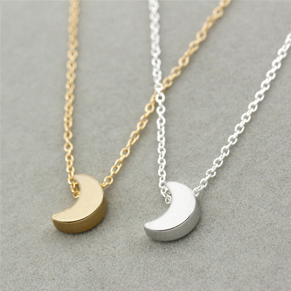 Mini Crescent Moon Necklace,artistic bae review, artisticbae reviews, artistic bae reviews, artsy clothing  - Artistic Bae