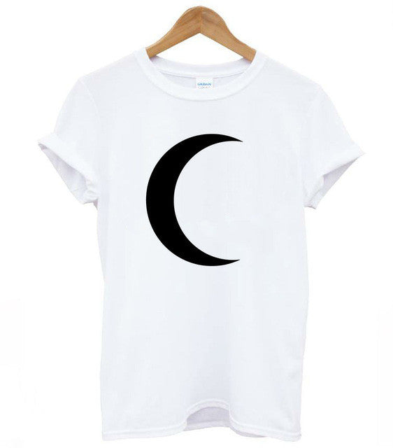 Moon T-Shirt,artistic bae review, artisticbae reviews, artistic bae reviews, artsy clothing  - Artistic Bae