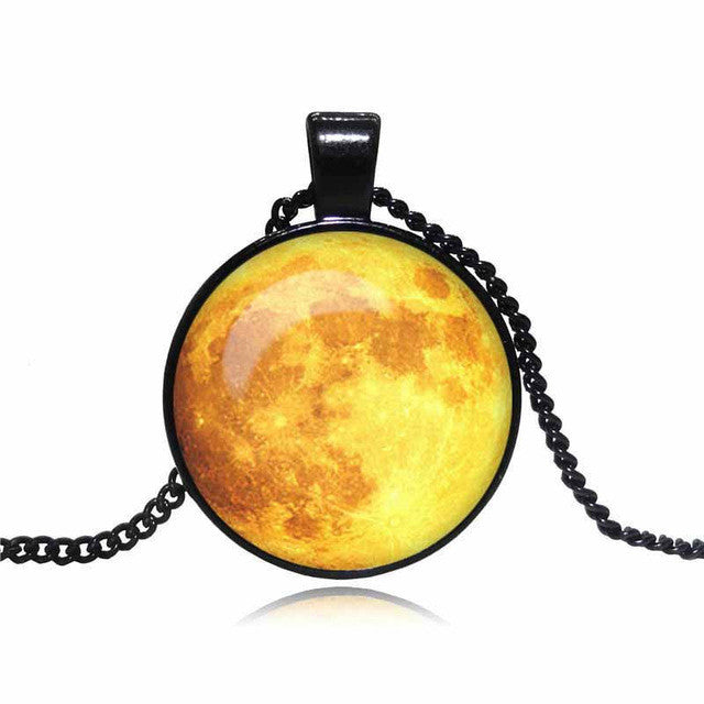 Vintage Moon Pendant Necklace,artistic bae review, artisticbae reviews, artistic bae reviews, artsy clothing  - Artistic Bae