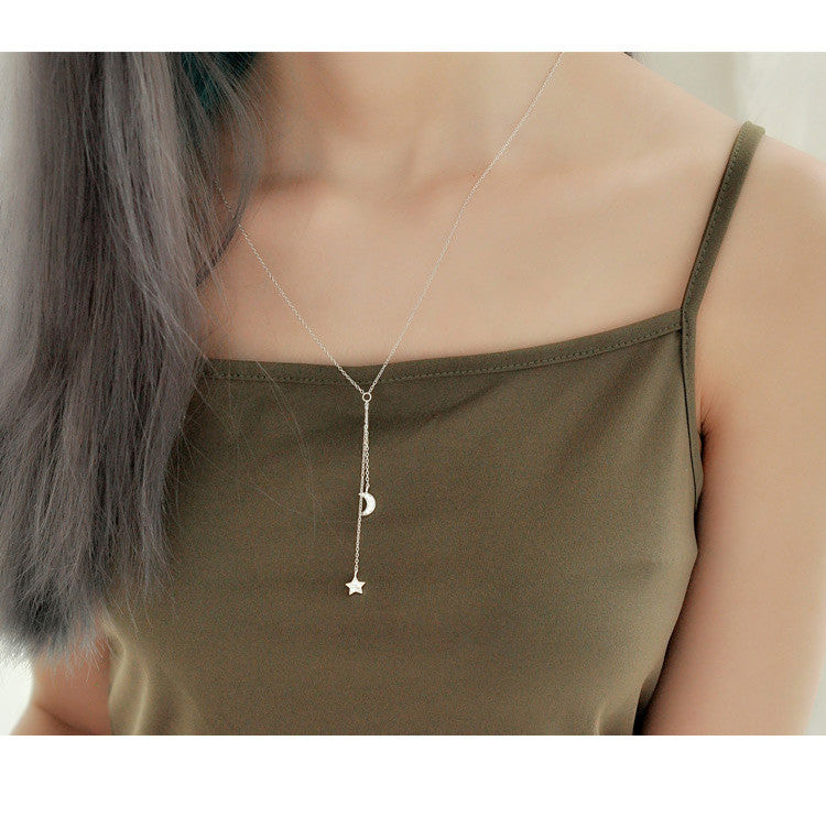 "The ""Moonstars Lover""  Silver Pendant Necklace,artistic bae review, artisticbae reviews, artistic bae reviews, artsy clothing  - Artistic Bae"