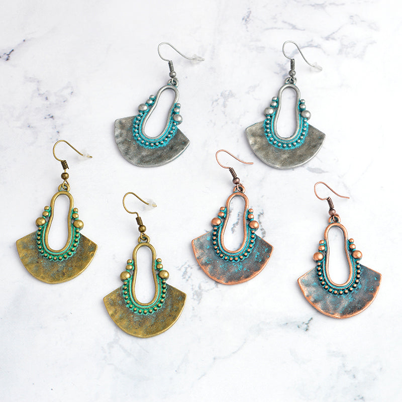 Ethnic Chandelier Drop Earrings,artistic bae review, artisticbae reviews, artistic bae reviews, artsy clothing  - Artistic Bae