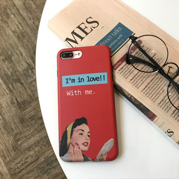 """I'm In Love"" Silicone iPhone Cases,artistic bae review, artisticbae reviews, artistic bae reviews, artsy clothing  - Artistic Bae"