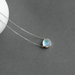 Elegant Halo Crystal Necklace,artistic bae review, artisticbae reviews, artistic bae reviews, artsy clothing  - Artistic Bae