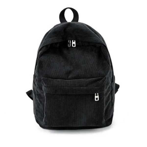 Basic Corduroy Backpack,artistic bae review, artisticbae reviews, artistic bae reviews, artsy clothing  - Artistic Bae